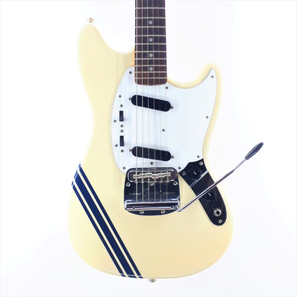 fender mustang made in japan racing stripes