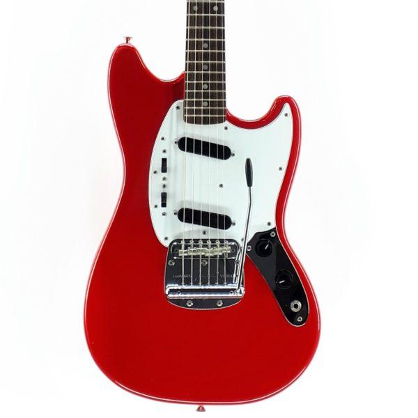 mustang red Fender Mustang Japan MG69 2010