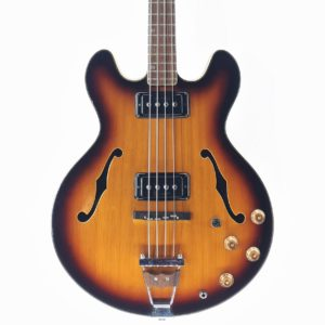 mosrite bass hollow body