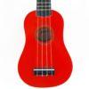 Ashton Ukelele Soprano Red UKE-100