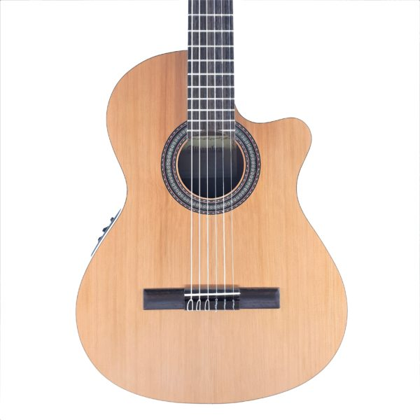 alhambra z nature made in spain cutaway nylon strings