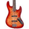 Bacchus Jazz Bass WJB-RD