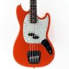 mustang bass made in japan fiesta red