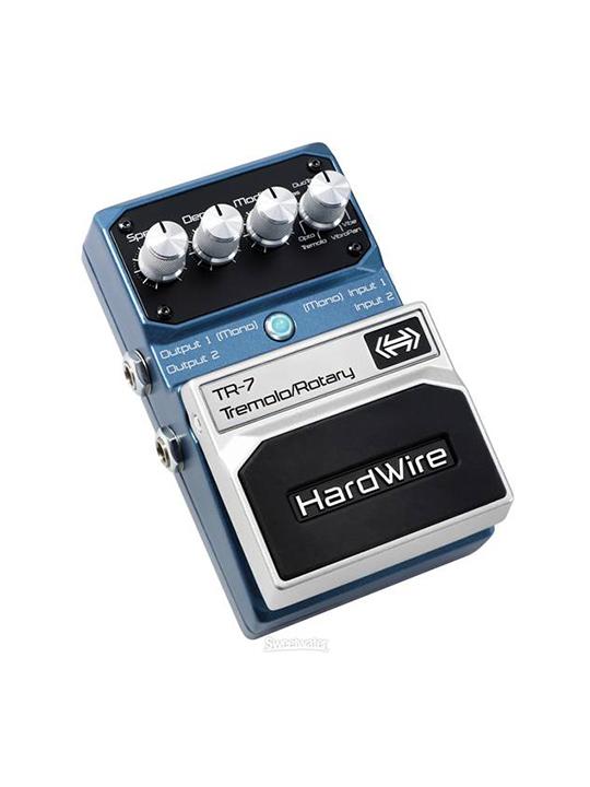 digitech tremolo hardwire tr7 pedal