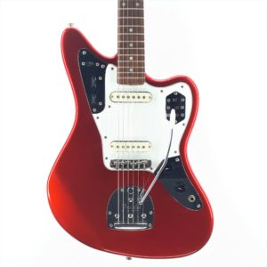 fender jaguar red made in japan