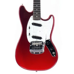 Fender Mustang Japan Red T084927 2007 2010 made in japan