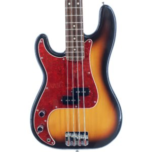 fender precision bass japan pb62-65l sunburst 1993