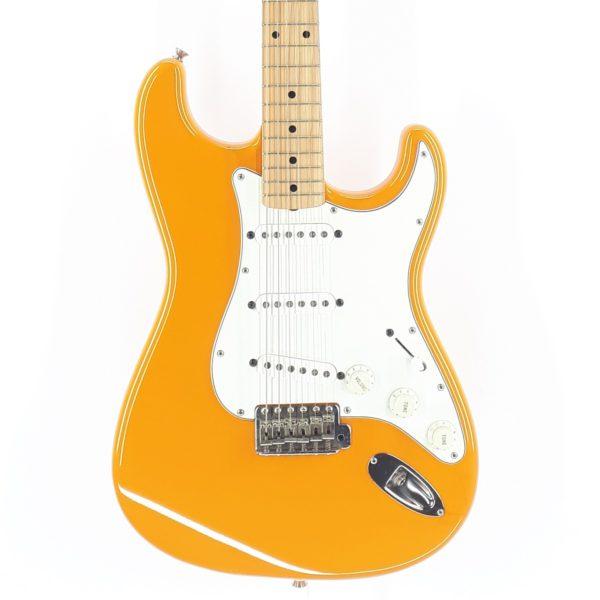 fender stratocaster 1993 st-43 custom orange