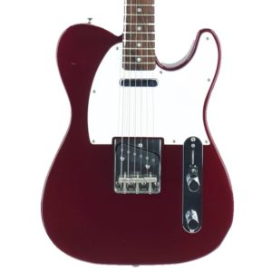 telecaster made in japan wine red guitar shop barcelona