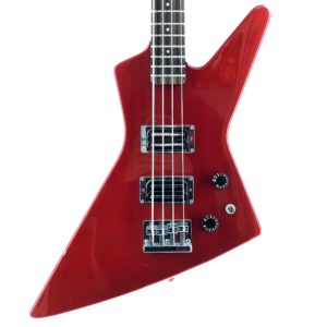 Fernandes Bass BXB55 Japan 80s Guitar Shop Barcelona (2) red 80s