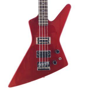 Fernandes Bass BXB55 Japan Red 80s Guitar Shop Barcelona (2)