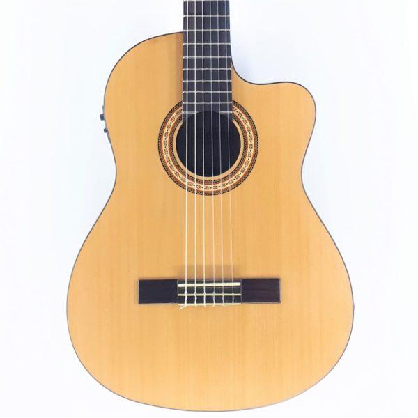 molina clasica amplificada guitarra con fishman