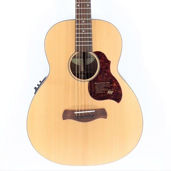 richwood baritone guitar electroacoustic
