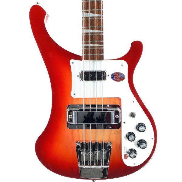 Rickenbacker Bass 4003 Fireglo 2020 Guitar Shop Barcelona made in usa