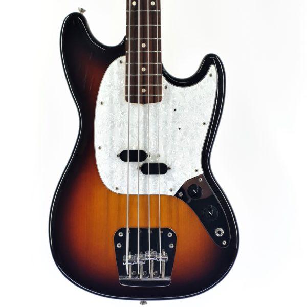 fender mustang bass 2006 sunburst made in japan