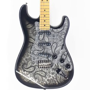 Tokai Stratocaster Black Paisley Custom Shop Japan