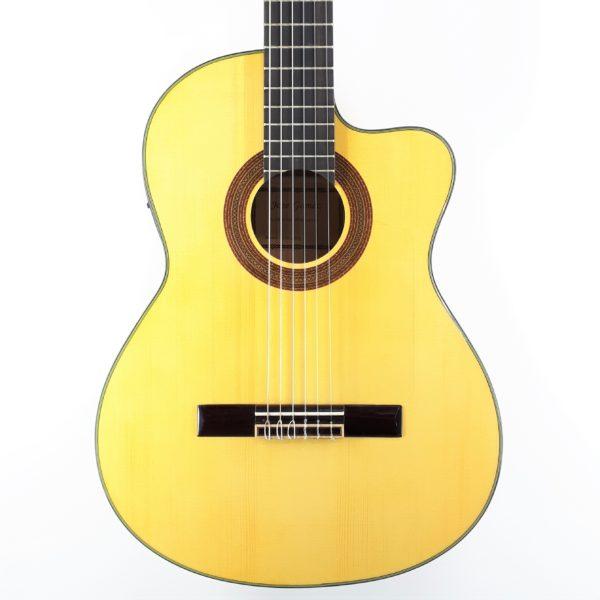 jose gomez flamenco 580EQ amplificada flamenco