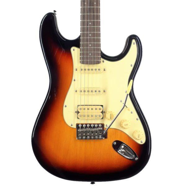 Prodipe Stratocaster ST83 Series SB HSS