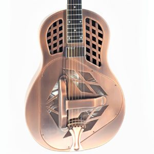republic resonator made in usa antique copper