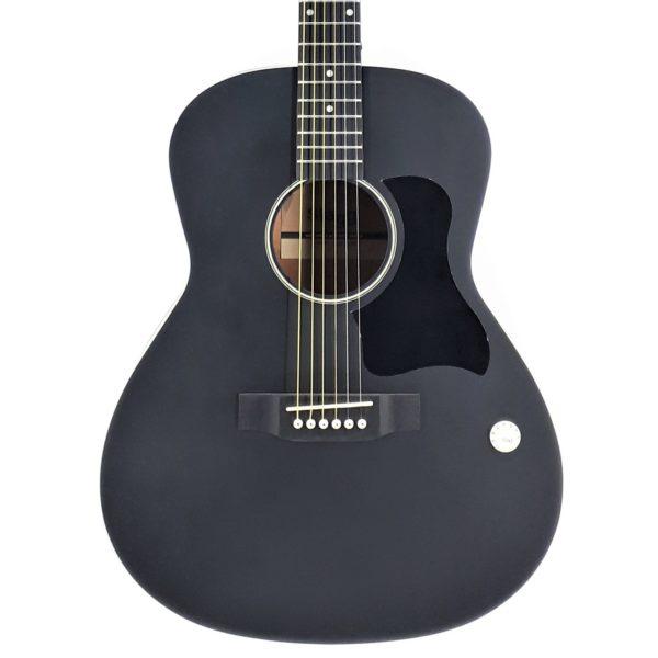 electroacustica negra guitarra