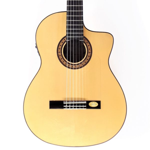 salvador cortez flamenco thinline