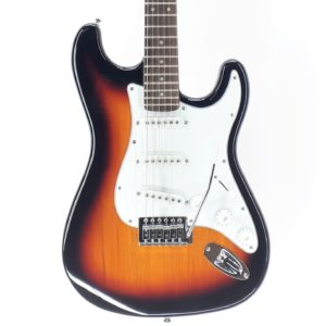 stratocaster fender barata china sunburst