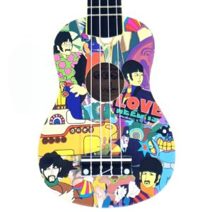 yellow submarine ukelele amplificado